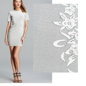 French Connection Jocelyn Jacquard Dress bodycon